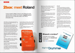 DigitalDrummer May 2016 edition